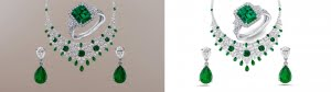 Photoshop Jewelry Image Editing Service